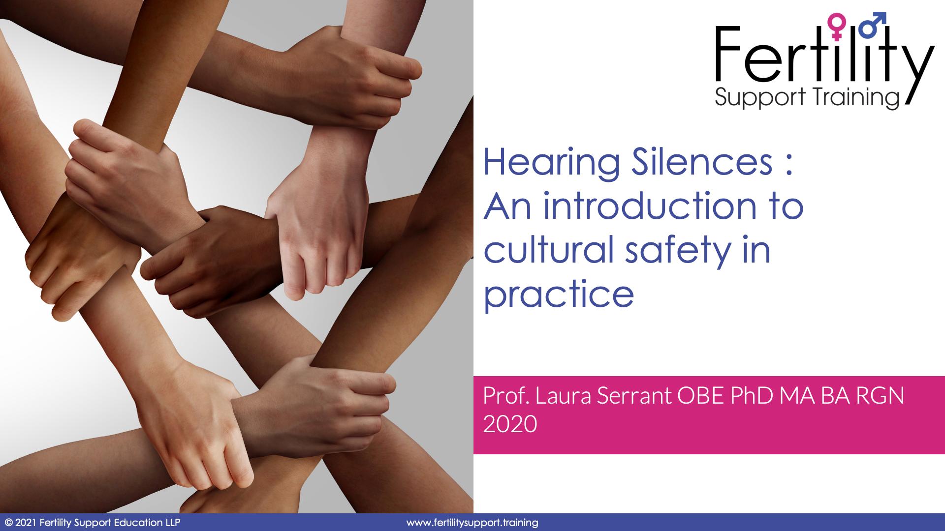 Hearing Silences Title Slide
